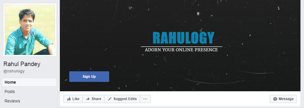 RAHULOGY COVER PHOTO