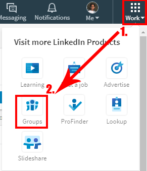 Step-1-to-create-linkedin-group