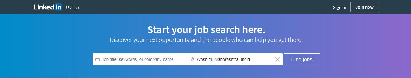 LinkedIn Jobs Portal