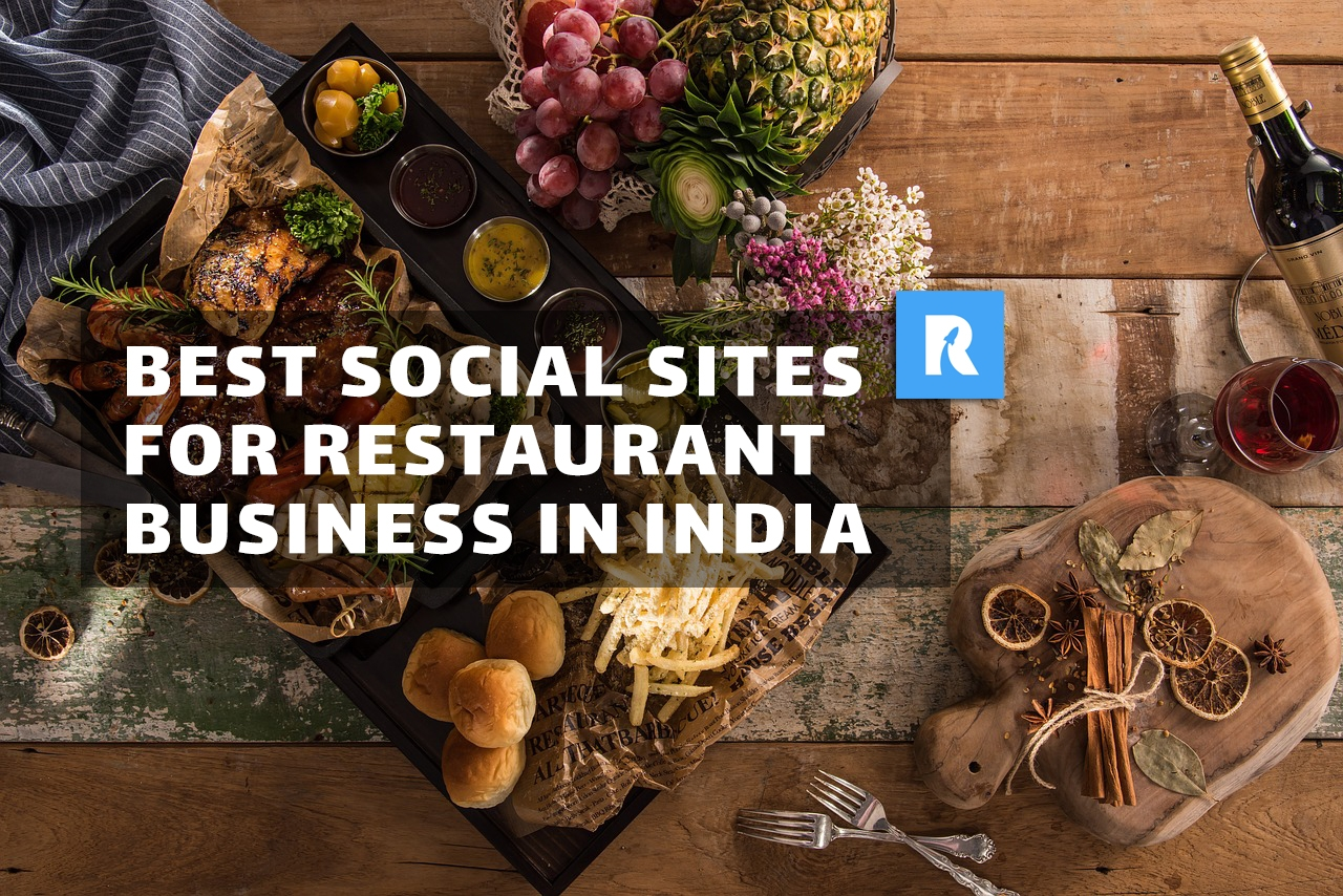 Best social media websites for restaurant business in India