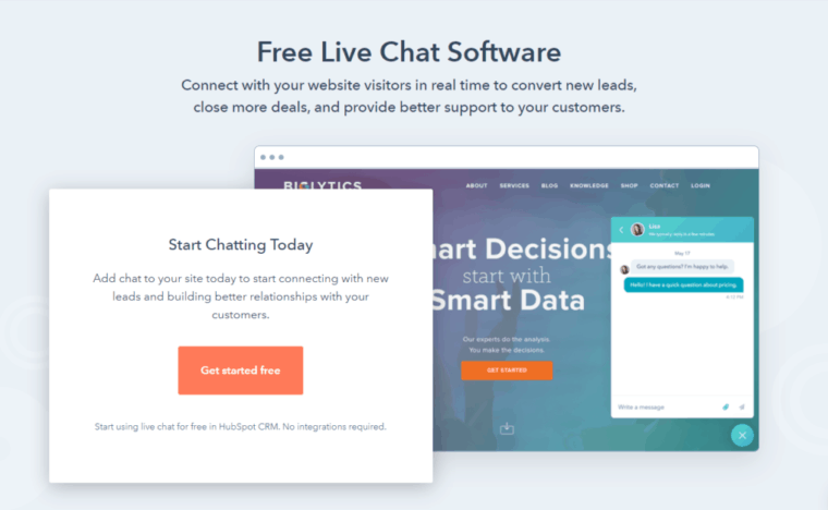 For free live websites chat YesIChat